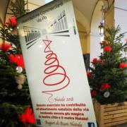 Natale ecologico in Via PO